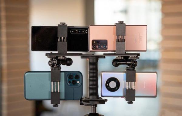 مقایسه دوربین آیفون 12 پرو مکس، هواوی میت 40 پرو، اکسپریا 1 مارک 2 و گلکسی نوت 20 اولترا