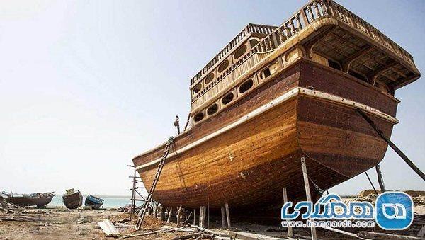 لنج های شناور چوبی کاربری گردشگری به خود بگیرند