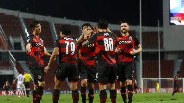 نتایج گروه G و H لیگ قهرمانان آسیا ، پیروزی پرگل ناگویا و پوهانگ