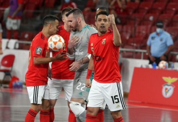 طیبی به داد تیم فوتسال بنفیکا رسید، فینال دیوانه کننده پرتغال